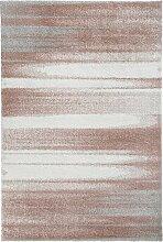 Teppich mit dezentem Muster, rosa (200/290 cm)
