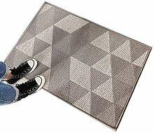 Teppich mit geometrischem Muster verwendet in