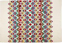 Teppich mit grafischen Motiven 155x230