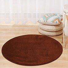 Teppich mit klassischem Musterbereich Teppich Moderner TeppichRunder Teppich Einfaches Modernes Schlafzimmer Bedside Teppich Wohnzimmer Couchtisch Home Verdickt Computer Stuhl Teppich