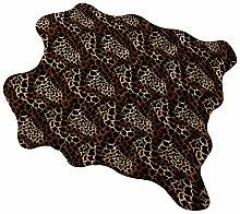 Teppich mit Leopardenmuster, Teppich mit