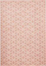 Teppich mit Ornamentmusterung, rosa (60/110 cm)