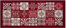 Teppich mit rutschfester Rückseite Pfannen Position Maiolica by Suardi 55x240 ro