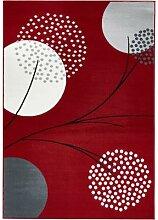 Teppich mit stilisierten Blüten