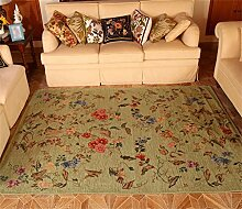 Teppich Mode Ländliches Wohnzimmer Schlafzimmer Sofa Couchtisch Bedside Rectangle Anti-Rutsch-Teppich ( farbe : # 4 , größe : 140*200CM )
