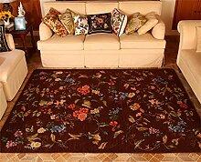 Teppich Mode Ländliches Wohnzimmer Schlafzimmer Sofa Couchtisch Bedside Rectangle Anti-Rutsch-Teppich ( farbe : # 2 , größe : 140*200CM )