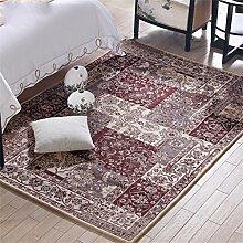 Teppich Mode Persönlichkeit Wohnzimmer Schlafzimmer Sofa Couchtisch Bedside Rectangle Anti-Rutsch-Teppich ( farbe : #3 , größe : 140*200CM )