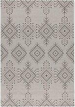 Teppich Modern Aztec silver/ antarcite 160x230cm,