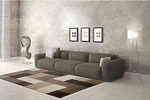 Teppich Modern Design Teppiche Wohnzimmer Beige