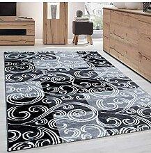 Teppich Modern Designer Barock mit Kariert Muster