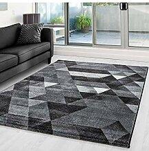 Teppich Modern Designer Geometrisch Dreieck Muster