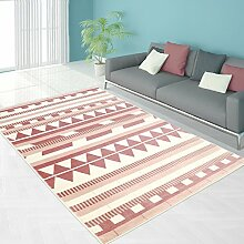 Teppich Modern Designer Wohnzimmer Schlafzimmer Läufer Inspiration Else ZickZack Pastell Rosa Blau , Größe in cm:80 x 300 cm;Farbe:Pink