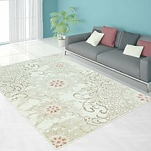 Teppich Modern Designer Wohnzimmer Schlafzimmer Läufer Inspiration Beauty Blume Pastell Blau Pink NEU, Größe in cm:80 x 300 cm;Farbe:Pink