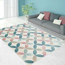 Teppich Modern Designer Wohnzimmer Schlafzimmer Läufer Inspiration Net Pastell Multi Braun NEU, Größe in cm:80 x 150 cm;Farbe:Multi