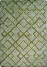 Teppich Modern Ethno Muster Azteken Zick Zack