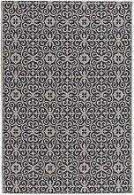 Teppich Modern Ethno sand/ anthracite 120x170cm, 120x170cm