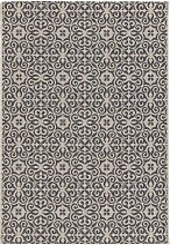 Teppich Modern Ethno sand/ anthracite 200x290cm, 200x290cm