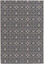 Teppich Modern Ethno sand/ anthracite 67x130cm, 67x130cm