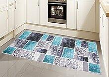 Teppich Modern, Flachgewebe, Gel-Läufer,