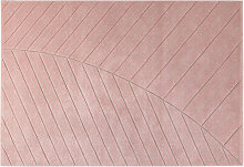 Teppich modern rosa 160 x 230 cm PALM