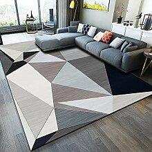 Teppich Modern Shaggy Teppich Hochflor, 110x160cm,