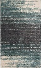 Teppich Modern Teal blue-dark grey 160x230cm, 2160