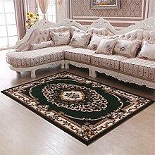 Teppich Moderne Europäische Stil Ländlichen Wohnzimmer Schlafzimmer Sofa Couchtisch Bedside Rectangle Anti-Rutsch-Teppich ( farbe : # 4 , größe : 125*160cm )