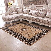 Teppich Moderne Europäische Stil Ländlichen Wohnzimmer Schlafzimmer Sofa Couchtisch Bedside Rectangle Anti-Rutsch-Teppich ( farbe : #7 , größe : 125*160cm )