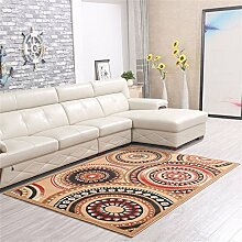 Teppich Moderne Europäische Stil Ländlichen Wohnzimmer Schlafzimmer Sofa Couchtisch Bedside Rectangle Anti-Rutsch-Teppich ( farbe : #8 , größe : 125*160cm )