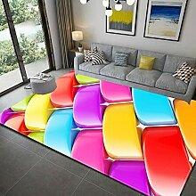 Teppich,Moderne, Zottelige, rutschfeste,