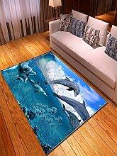 Teppich,Moderne, Zottelige, rutschfeste, Mit