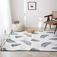 Teppich,Moderne Zottelige rutschfeste Weiße Feder