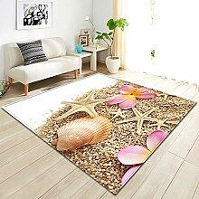 Teppich,Moderner, Zotteliger, Rutschfester Teppich