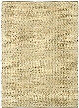 Teppich modernes Design ABACUS JUTE RUG SAND 160 cm x 230 cm 100% Jute