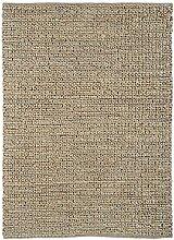 Teppich modernes Design ABACUS JUTE RUG TAUPE 160 cm x 230 cm 100% Jute