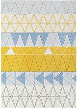 Teppich modernes Design BOCA STOCKHOLM RUG BLUE 120 cm x 170 cm