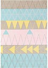 Teppich modernes Design BOCA STOCKHOLM RUG PINK