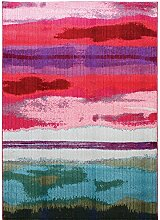 Teppich modernes Design COLORES SUNSET RUG MULTI 120 cm x 170 cm