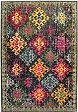 Teppich modernes Design COLORES VINTAGE RUG MULTI 120 cm x 170 cm