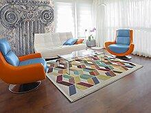 Teppich modernes Design RUG EMOTION 1342 04 WEISS