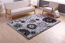 Teppich Modernes einfaches Wohnzimmer Schlafzimmer Sofa Couchtisch Bedside Rectangle Anti-Rutsch-Teppich ( farbe : #8 , größe : 1.4*2m )