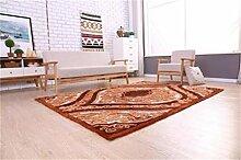 Teppich Modernes einfaches Wohnzimmer Schlafzimmer Sofa Couchtisch Bedside Rectangle Anti-Rutsch-Teppich ( farbe : #5 , größe : 1.2*1.7m )