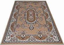 Teppich Motiv Persischer Stil Klassisch–Beste Preis-/Leistungsverhältnis Royal Shiraz 2063-beige Cm. 280X480 beige