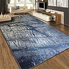 Teppich Nacht Decke Salon Schlafzimmer Teetisch Kunst kreativ Mode Persönlichkeit Zusammenfassung Einfache, moderne ( MUSTER : #1 , größe : 80*120cm )
