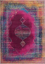 Teppich Nadja, lila (60/90 cm)