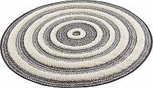 Teppich, Nador, MINT RUGS, rund, Höhe 22 mm,