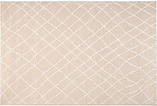 Teppich Naturfarben Polypropylen 160x230cm FLOW
