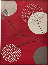 Teppich Niko, rot (60/110 cm)