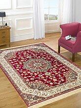 Teppich Orient Teppich Klassisch wirtschaftlichen Rubine 317-rosso Cm.250x350 ro