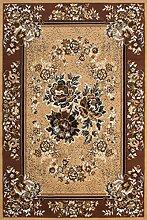 Teppich Orientalisch Blumen Muster Bordüre